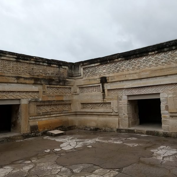 The palace within the Mitla ruins